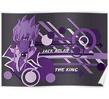The King - Jack Atlas  Poster