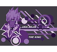 The King - Jack Atlas  Photographic Print