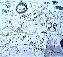 war series #8 by Loui  Jover