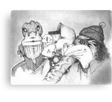 Three Gentlemen Canvas Print