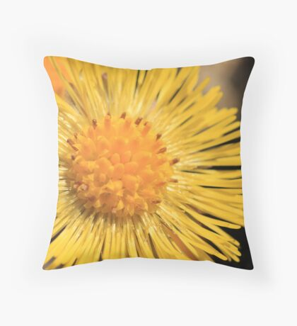 Bright Bloom Throw Pillow
