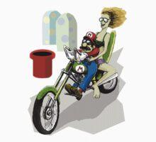 Mario Biker by weirdpuckett