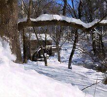 Winter Wonderland at Garvine Mill by Hope Ledebur
