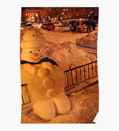 Tuty the Snowman Poster