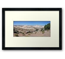 Overlooking Calf Creek  Framed Print