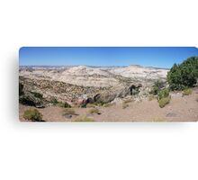 Overlooking Calf Creek  Canvas Print