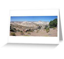 Overlooking Calf Creek  Greeting Card