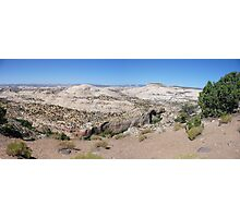 Overlooking Calf Creek  Photographic Print