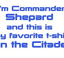 Commander Shepard Favorite by berabbit