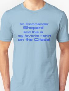 Commander Shepard Favorite T-Shirt