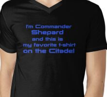 Commander Shepard Favorite Mens V-Neck T-Shirt