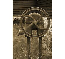 Water Pump Photographic Print