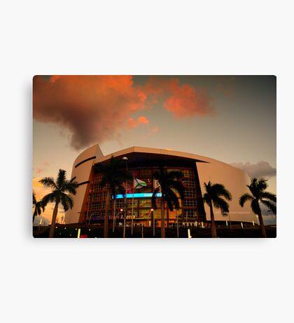 Scenes from Miami VII Canvas Print