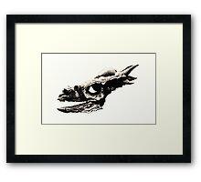 Stygimoloch Skull Framed Print