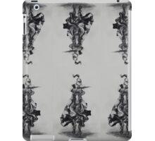 Charging Knight scarf iPad Case/Skin