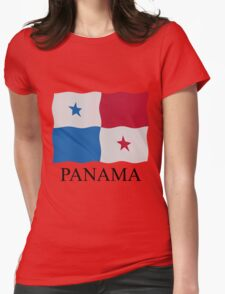 Panamanian flag Womens Fitted T-Shirt