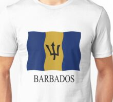 Barbados flag Unisex T-Shirt