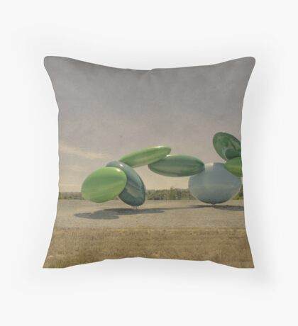 I Am Not Anywhere Throw Pillow