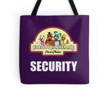 Five Nights at Freddy's 2 Freddy Fazbear's Security Logo Tote Bag
