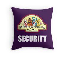 Five Nights at Freddy's 2 Freddy Fazbear's Security Logo Throw Pillow