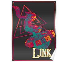 Hyrule Warriors Link Poster