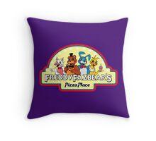 Five Nights at Freddy's 2 Freddy Fazbear's Logo  Throw Pillow