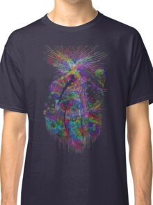Cosmic Crayola - psychedelic stars, and tiny dancers. Classic T-Shirt