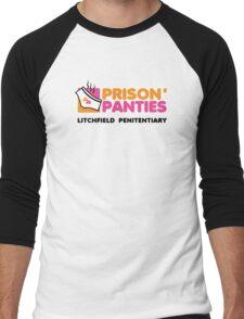 Prison Panties Men's Baseball ¾ T-Shirt