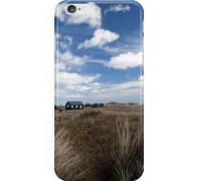 Fisherman's huts iPhone Case/Skin