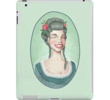Vintage-style girl iPad Case/Skin