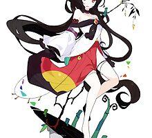 Touhou - Kagerou Imaizumi by Whitedark