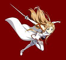 Sword Art Online - Asuna Yuuki by Whitedark
