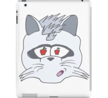 Raccoon Covet Design iPad Case/Skin