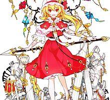 Touhou - Flandre Scarlet by Whitedark