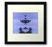 Tree Mirror Framed Print