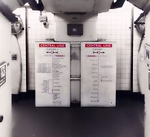 Holland Park Tube Station by AntSmith
