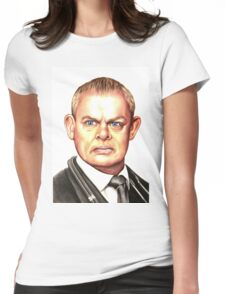 Doc Martin : Martin Clunes Womens Fitted T-Shirt