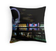 London Eyeful Throw Pillow