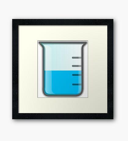 Beaker Science Framed Print
