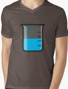 Beaker Science Mens V-Neck T-Shirt