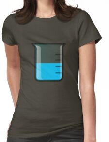 Beaker Science Womens Fitted T-Shirt