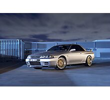 Silver Nissan R32 Skyline GTR #3 Photographic Print