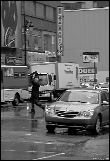 Rain Runner by Mark David Barrington