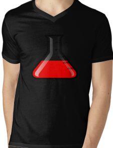 Flask Science Mens V-Neck T-Shirt