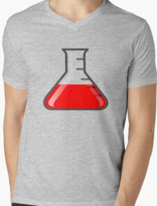 Flask Science Mens V-Neck T-Shirt