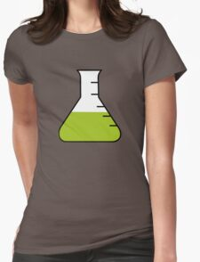 Flask Science Womens Fitted T-Shirt