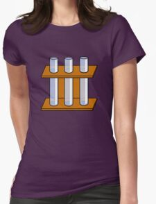 Chemistry Tubes Womens Fitted T-Shirt