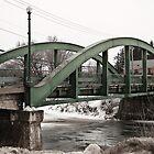 Ormstown Bridge by Mark David Barrington