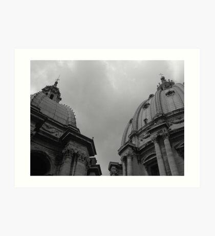 St Peters Basilica Art Print