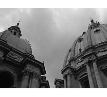 St Peters Basilica Photographic Print